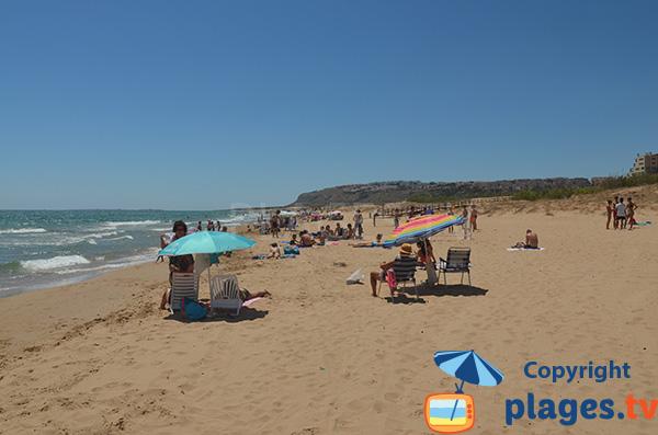 Playa Carabassi à Elche - Espagne