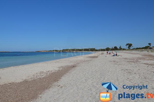 Plage de sable blanc à Majorque - Caragol