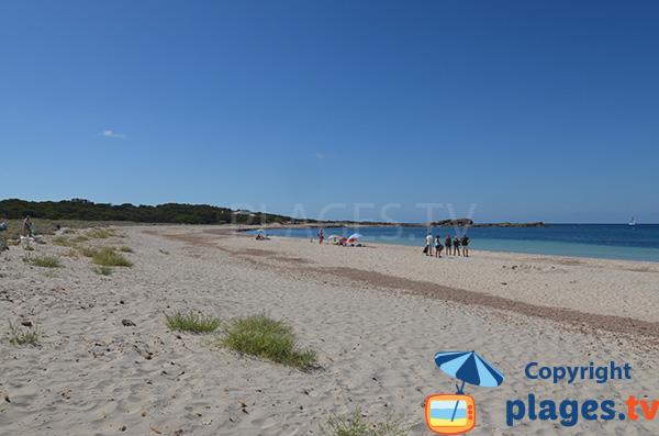 Vue sur la plage de Caragol en direction du sud - Majorque