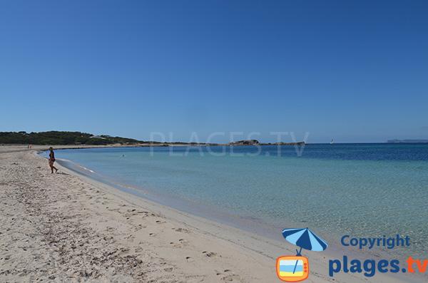 Vue sur l'archipel de Cabrera depuis la plage de Caragol - Majorque