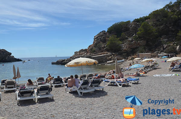 Photo de la plage de Carbo à Ibiza