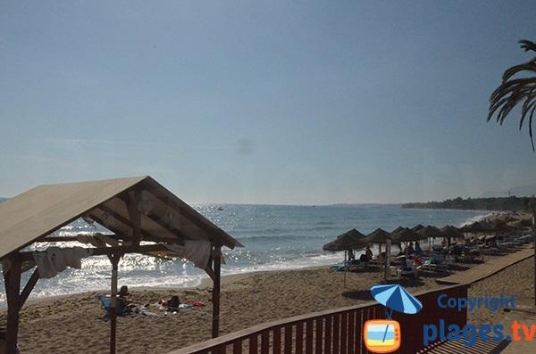 Accès à la plage Casablanca de Marbella