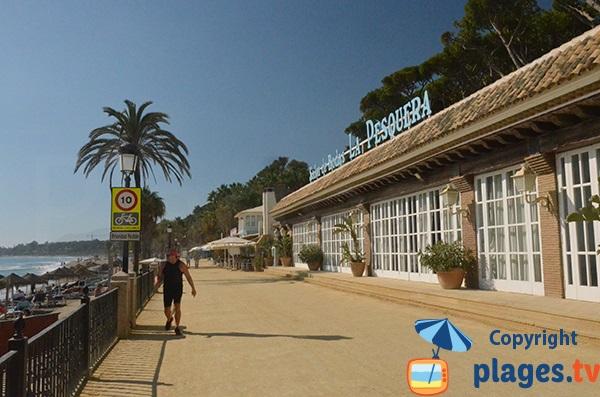 restaurants autour de la plage Casablanca - Marbella