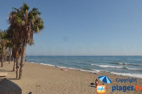 Photo de la plage de Casablanca à Marbella - Espagne