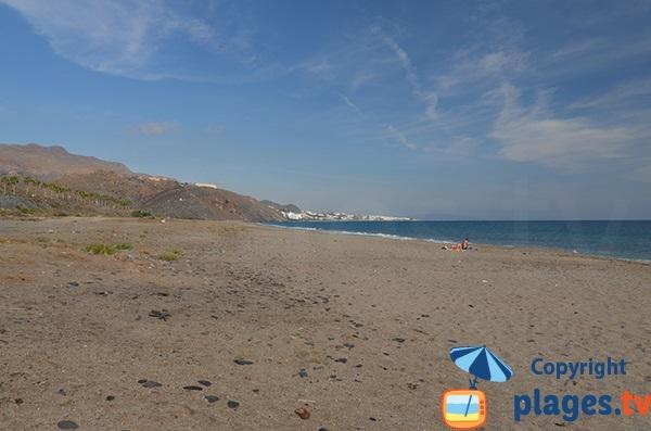 Photo de la plage du Castillo de Macenas à Mojacar