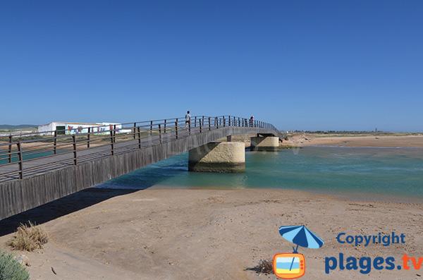 Accès à la plage de Castilnovo à Conil en Espagne