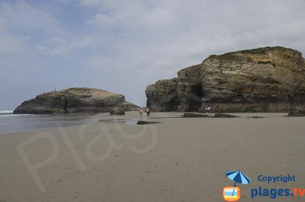 Praia das Catedrais - Augasantas