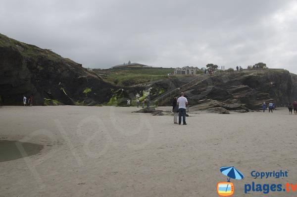 Site de la plage des Cathédrales en Espagne