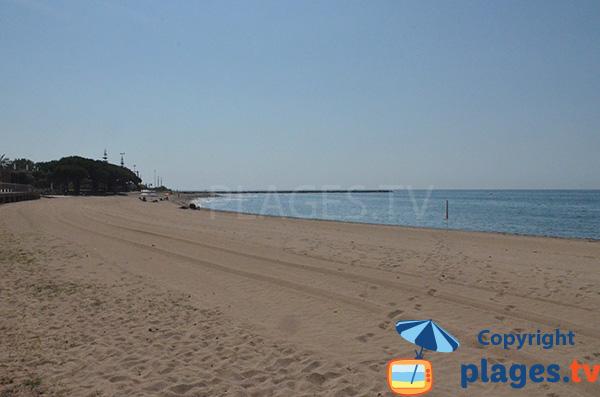 Photo de la plage de Cavet à Cambrils en Espagne