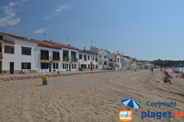Maisons sur le bord de mer de Altafulla - Espagne