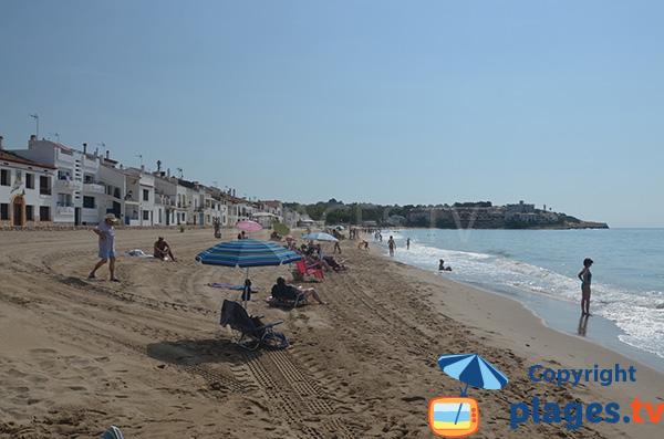 Belle plage au nord de Tarragone - Altafulla