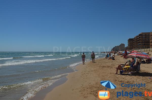 Plage à Arenals del Sol à proximité d'Alicante