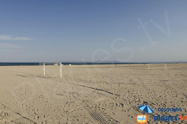 Beach soccer sur la plage d'Empuriabrava