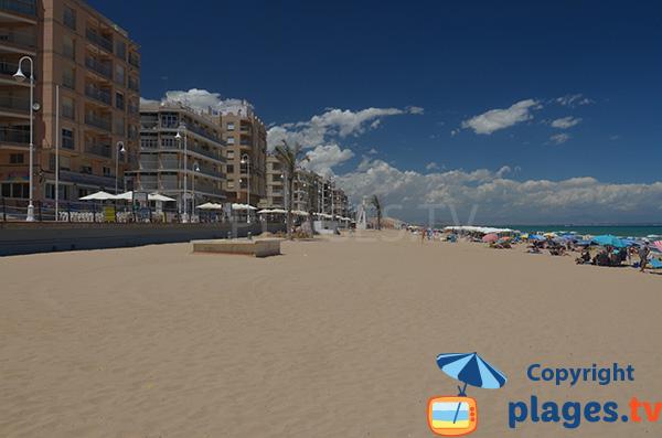 Immeubles sur le front de mer de Guardamar