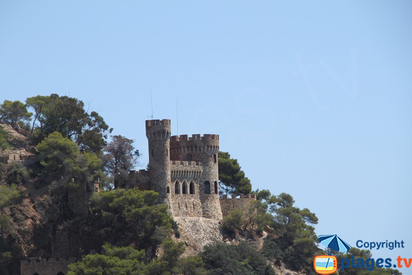 Castle of Lloret de Mar - Spain