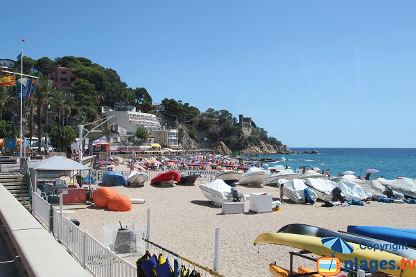 Nautic renting in Lloret de Mar
