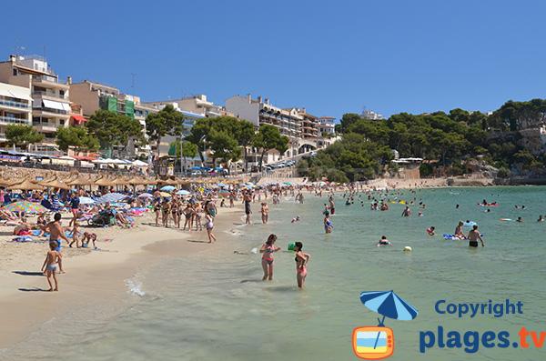 Photo de la plage de Porto Cristo à Majorque - Baléares