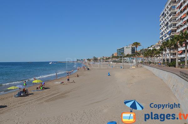 Photo de la plage du Centre de Villajoyosa - Espagne
