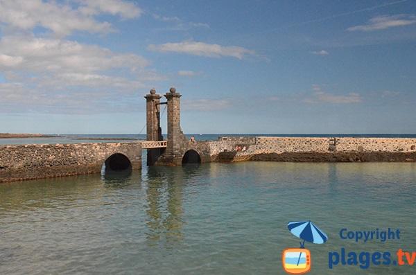 Puente de Las Bolas à Arrecife - Lanzarote