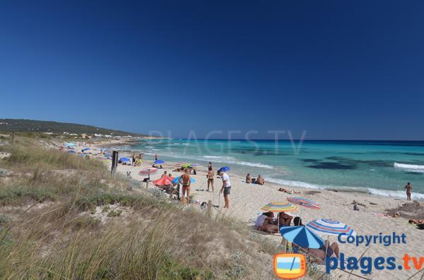 Plage de Codol Foradat - Playa Migjorn - Formentera