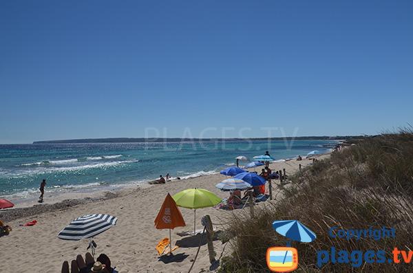 Plage de Vogamari - Playa Migjorn - Formentera