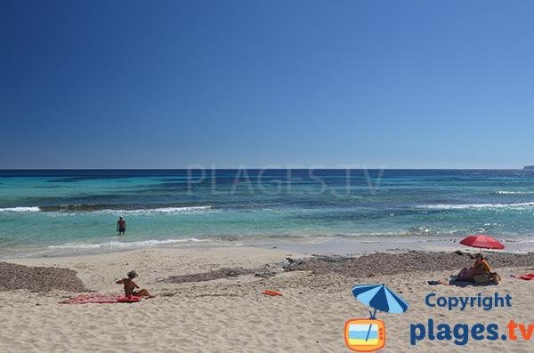 Playa Migjorn - Codol Foradat - Formentera