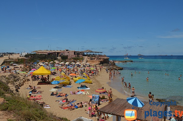 Photo de la plage Comte à Ibiza
