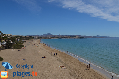 Plage de Costa Calma à Fuerteventura - Espagne