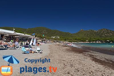 Plage à Costa dels Pins à Majorque