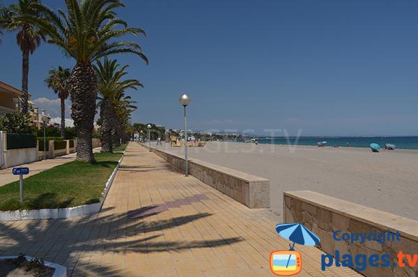 Photo de la plage Cristall - l'Hospitalet de l'Infant - Espagne