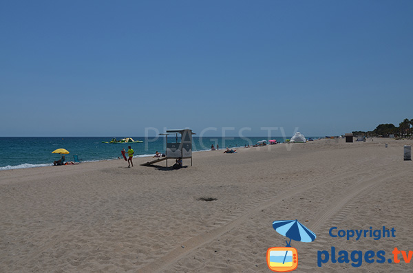 Grande plage à Miami Platja - Cristall