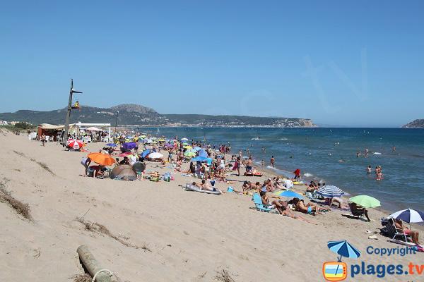 Photo de la plage del Grau à Pals en Espagne