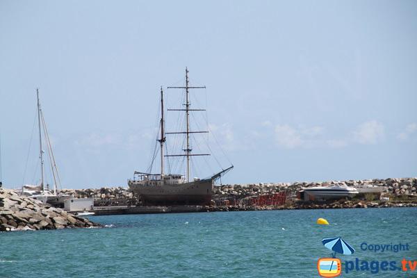 Port de plaisance à Arenys de Mar - Espagne