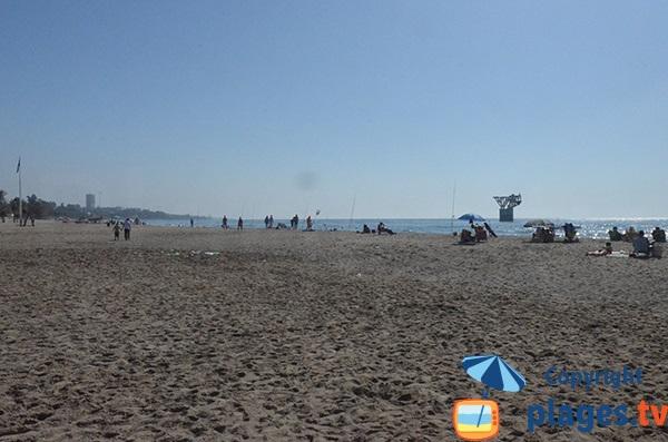 Photo de la plage El Cable à Marbella - Espagne