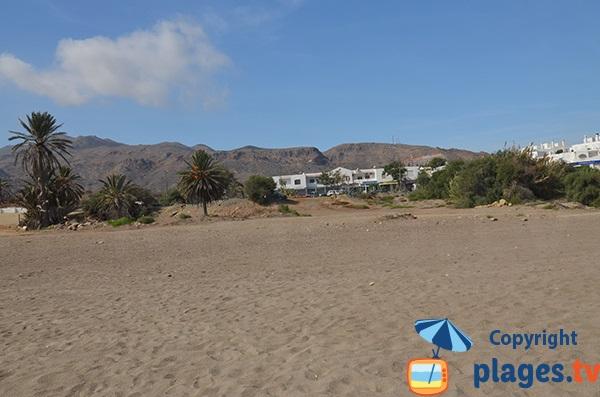 Environnement de la plage d'El Cantal - Mojacar