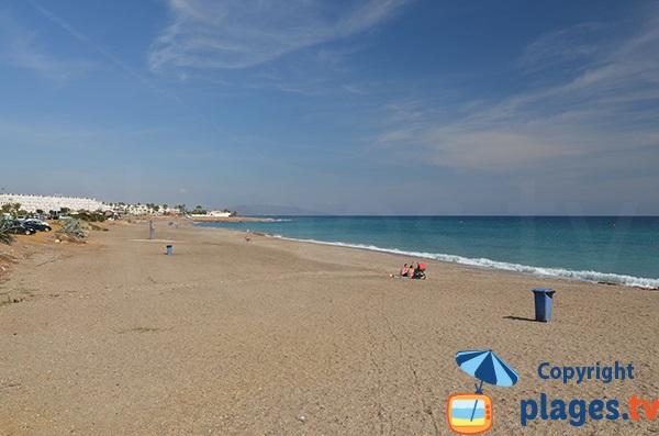 Photo de la plage El Descargador à Mojacar en Espagne