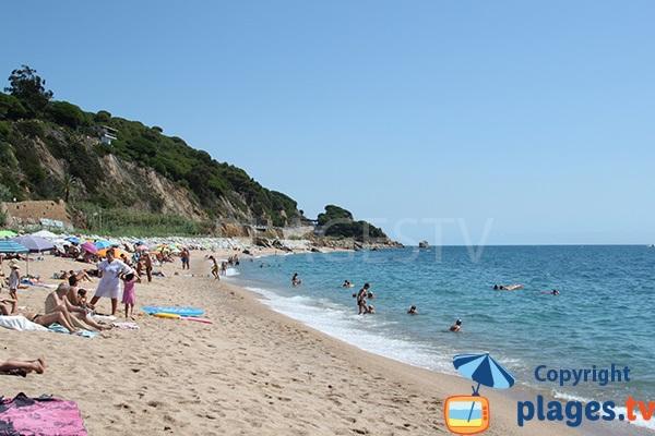 Plage principale de Sant Pol de Mar - Espagne