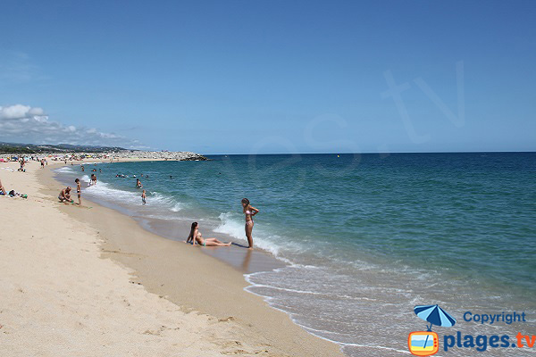 Photo of El Varador beach in Mataro - Spain