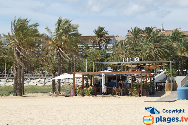 Restaurant of El Varador beach - Mataro
