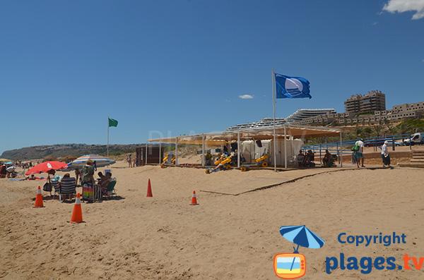 Tyralo sur la plage Elche - Los Arenales del Sol - Espagne