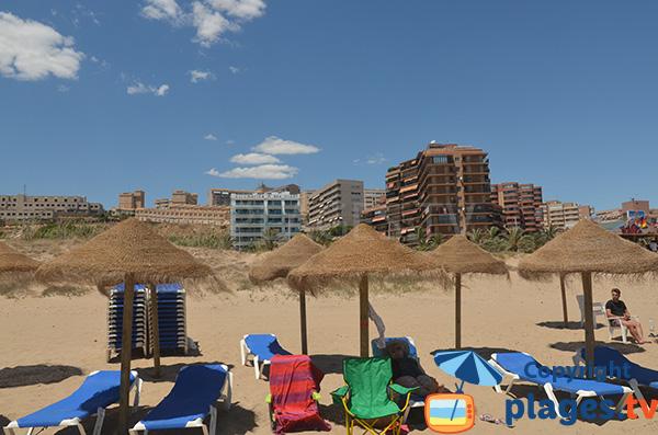 Immeubles autour de la plage de Elche - Los Arenales del Sol