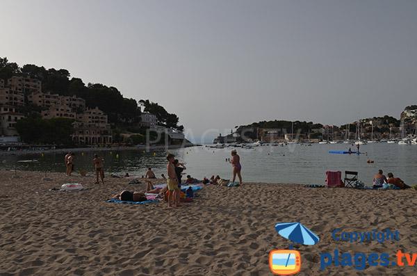 Plage et hôtels à Port-Soller - Majorque
