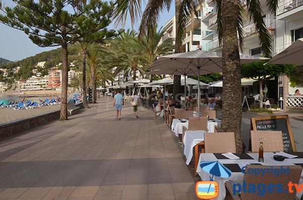 Restaurants autour de la plage d'En Repic - Soller