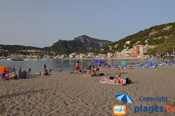 Photo de la plage d'En Repic à Port Soller - Ile de Majorque
