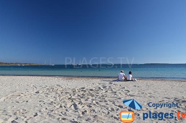Belle plage au sud de Majorque - Es Carbo
