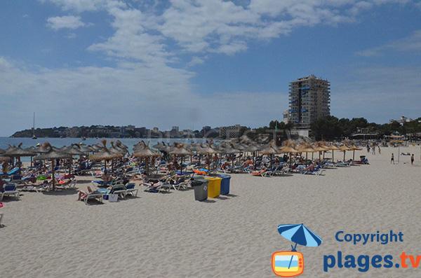 Photo de la plage de Es Carregador à Palmanova - Majorque