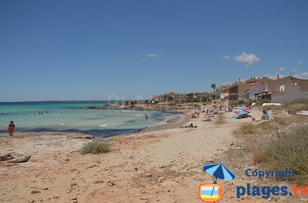 Photo de la plage Es Freu à Ses Convetes - Majorque