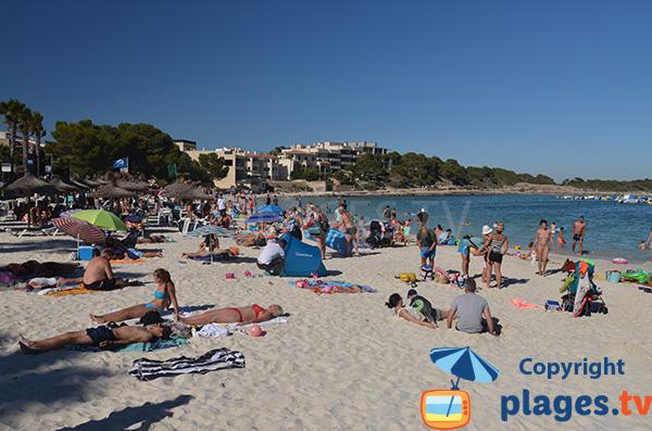 Plage du Port à Colonia de Sant Jordi - Ile de Majorque