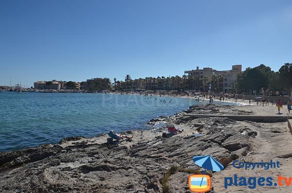 Port et plage de Colonia de Sant Jordi - Ile de Majorque