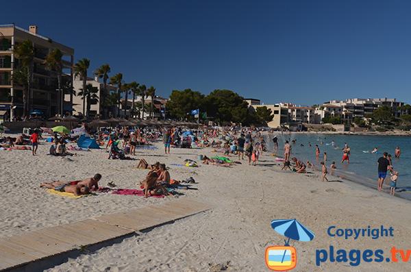 Photo de la plage du Port à Colonia de Sant Jordi - Majorque